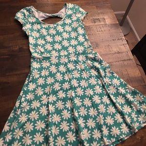 Stretchy Flower Dress